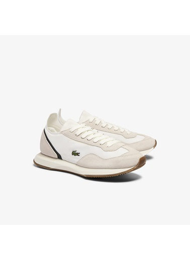 Lacoste Kadın Match Break 0721 1 Sfa Sneakers 741SFA0013.1Y5 Bej